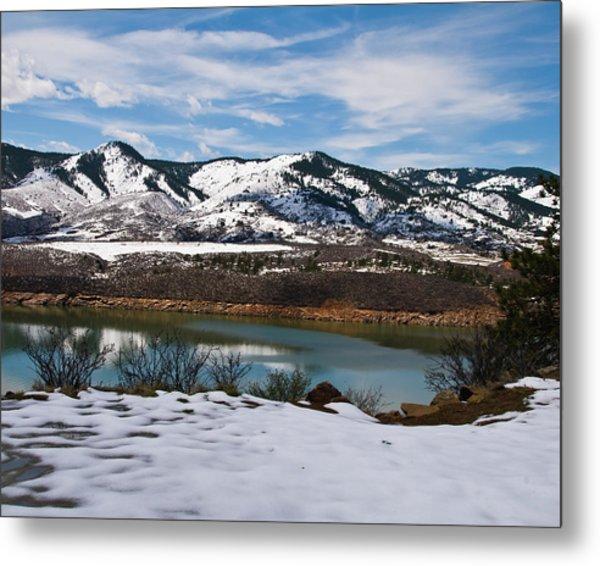 Horsetooth Reservoir Metal Print