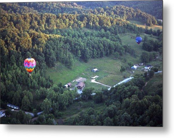 Hot Air Balloon - 3 Metal Print by Randy Muir