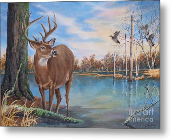 Hunters Dream Sold Metal Print