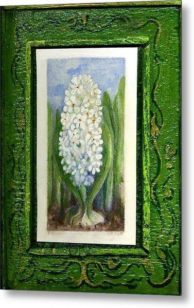 Hyacinth Metal Print by Elle Smith Fagan
