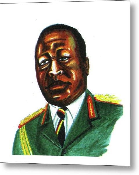 Idi Amin Dada Metal Print