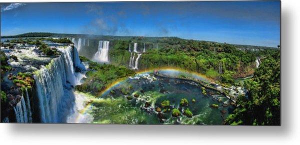 Iguazu Panorama Metal Print