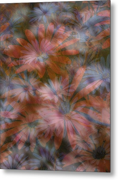 In The Garden Metal Print by Eileen Shahbazian