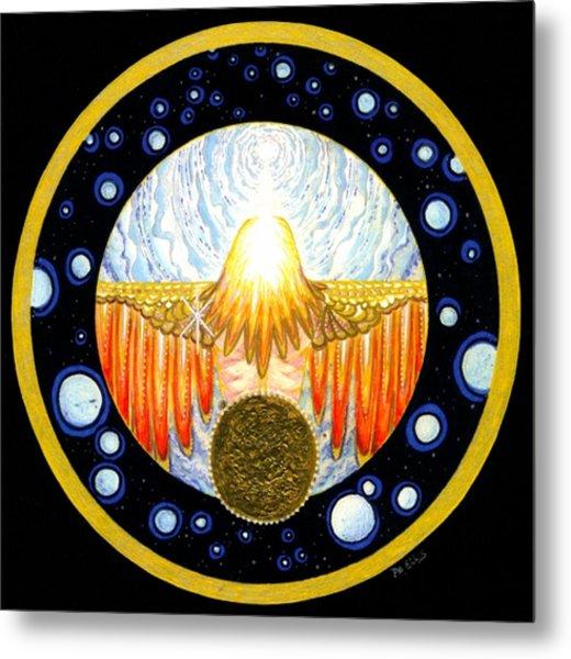 Incarnation   Mandala Series Metal Print by Pam Ellis