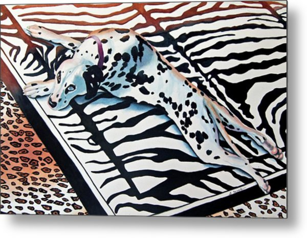 Incognito Metal Print by Gail Zavala