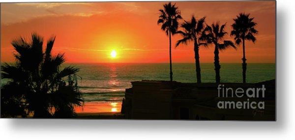 Incredible Sunset View Metal Print