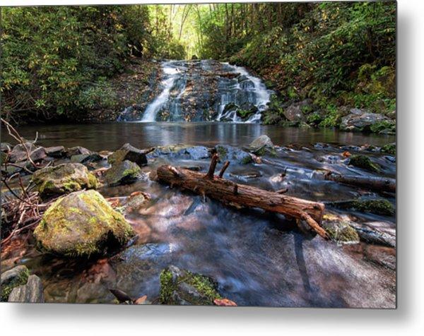 Indian Creek Falls Metal Print