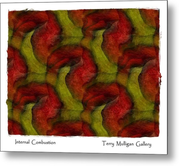 Internal Combustion Metal Print by Terry Mulligan