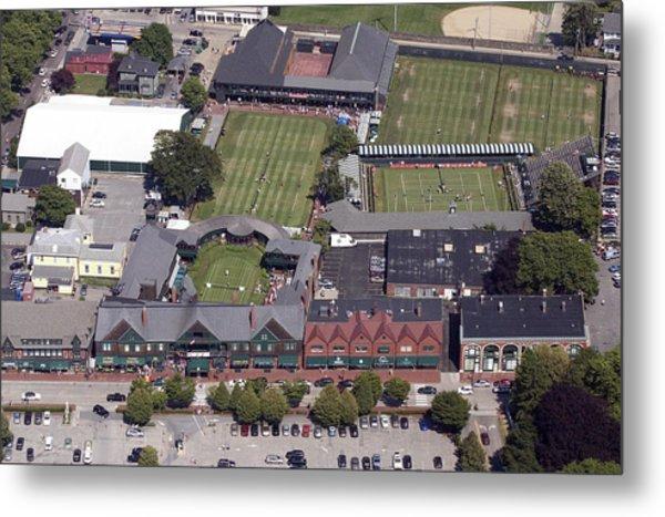 International Tennis Hall Of Fame 194 Bellevue Ave Newport Ri 02840 3586 Metal Print by Duncan Pearson