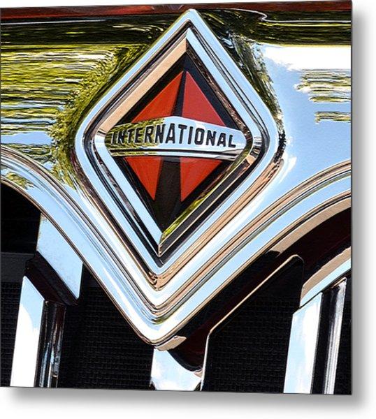 International Truck II Metal Print
