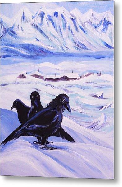 Iqaluit Metal Print by Anna  Duyunova