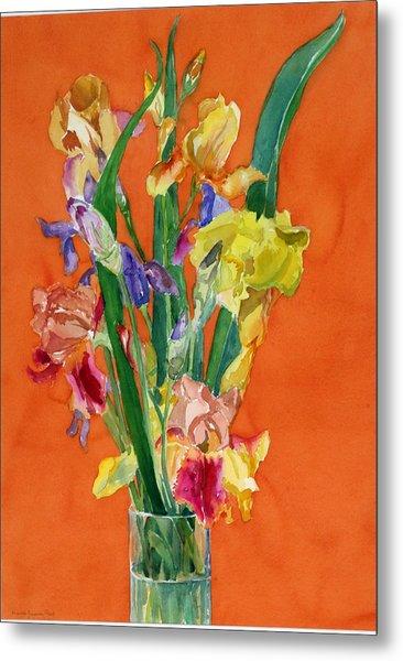 Irises Metal Print by Martha Zausmer paul