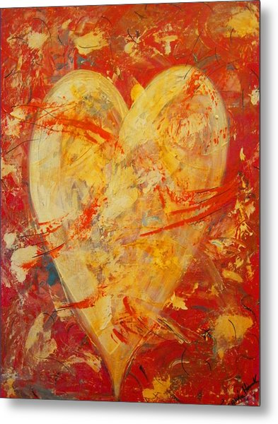 Irrefutable Heart Metal Print