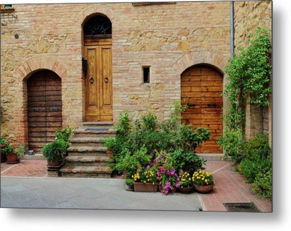 Italy - Door Eight Metal Print