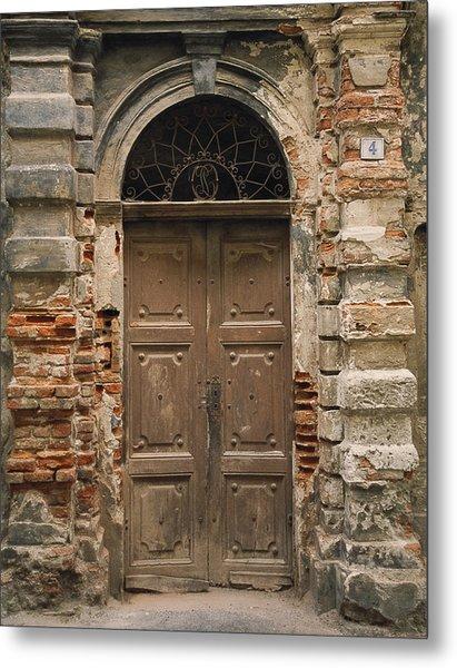 Italy - Door Four Metal Print