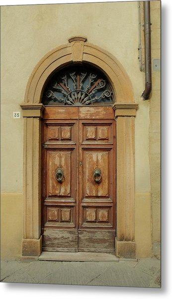 Italy - Door One Metal Print