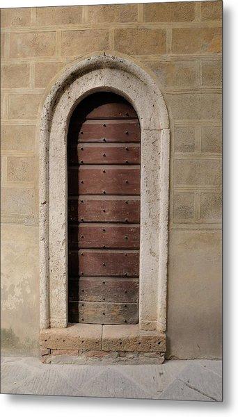 Italy - Door Ten Metal Print