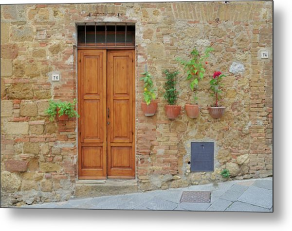 Italy - Door Twenty Metal Print
