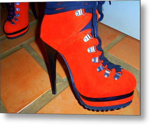 Its All About The Shoes Metal Print