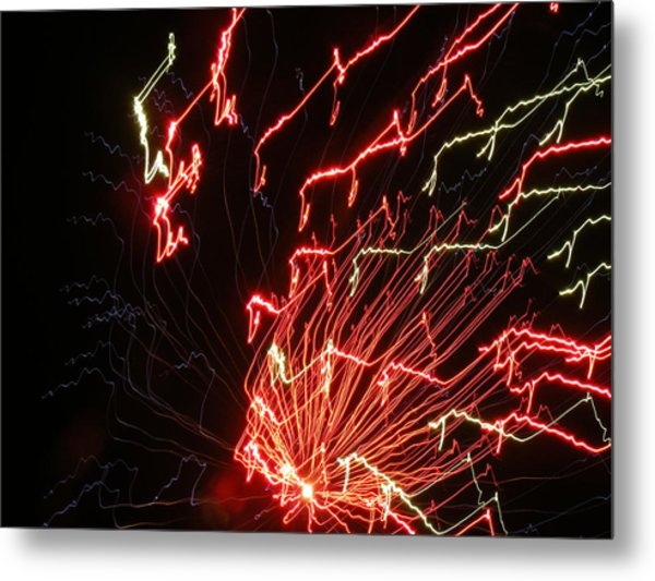 Its Electric Metal Print by James and Vickie Rankin