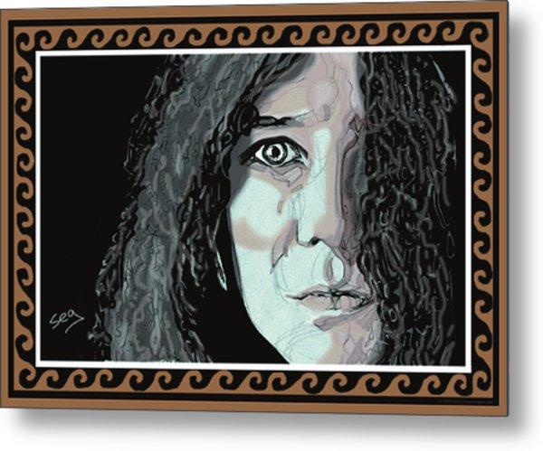 Janis Joplin Metal Print by Suzanne Gee