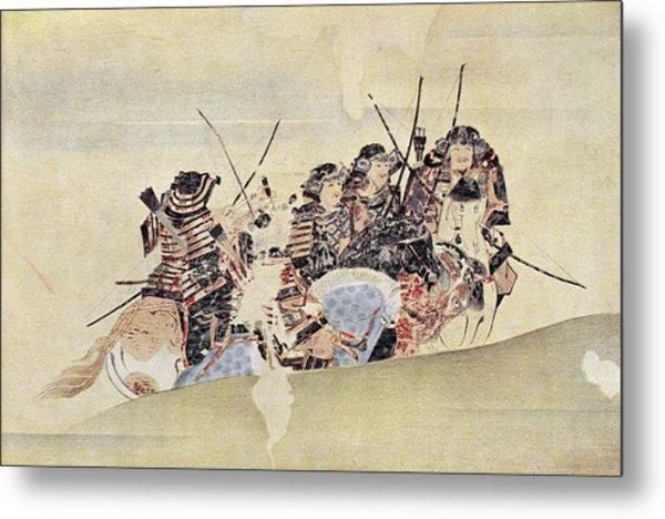 Japan: Samurai, 1281 Metal Print