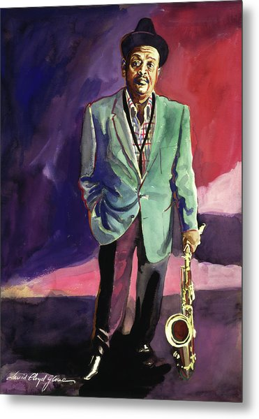 Jazzman Ben Webster Metal Print