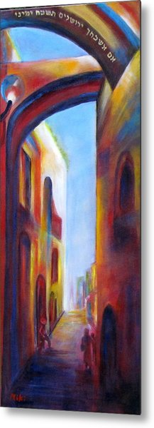 Jerusalem Of Gold Metal Print