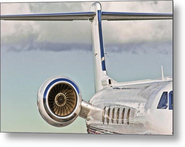 Jet Aircraft Metal Print