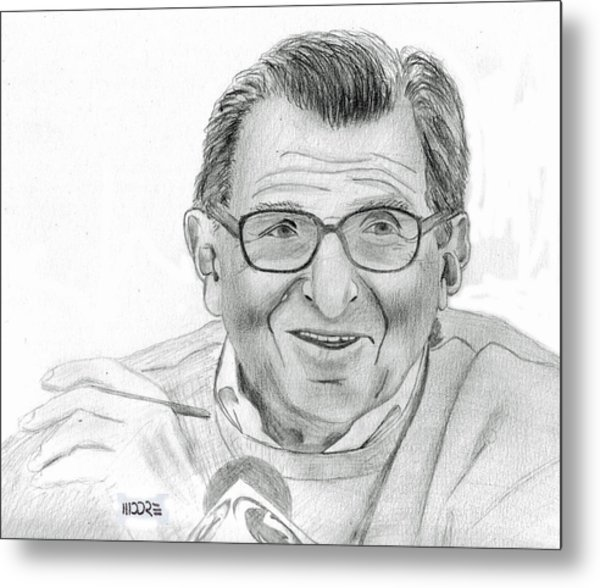 Joe Paterno Metal Print