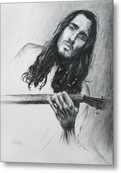 John Frusciante 1 Metal Print