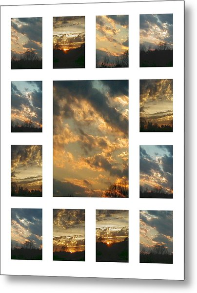 Joy In The Skies  Metal Print