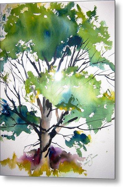 Just A Tree Metal Print