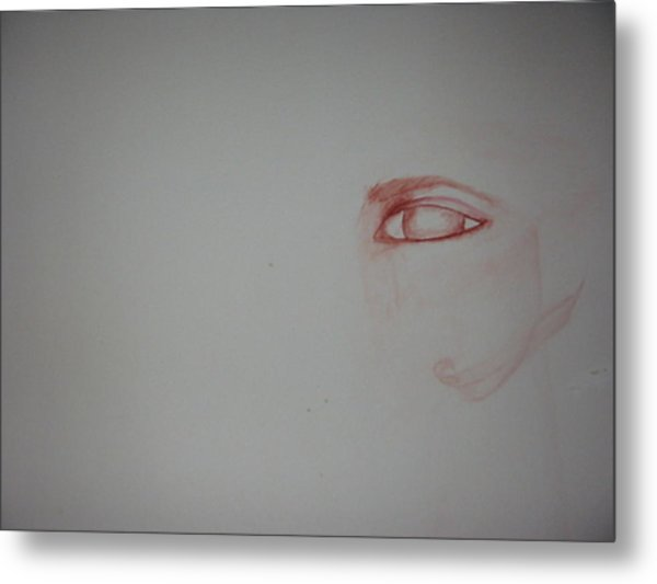 Just An Eye Metal Print by Marian Hebert