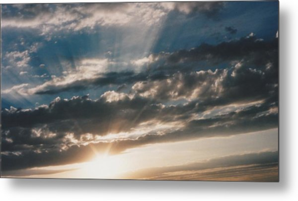 Kansas Evening Metal Print by Gene Linder