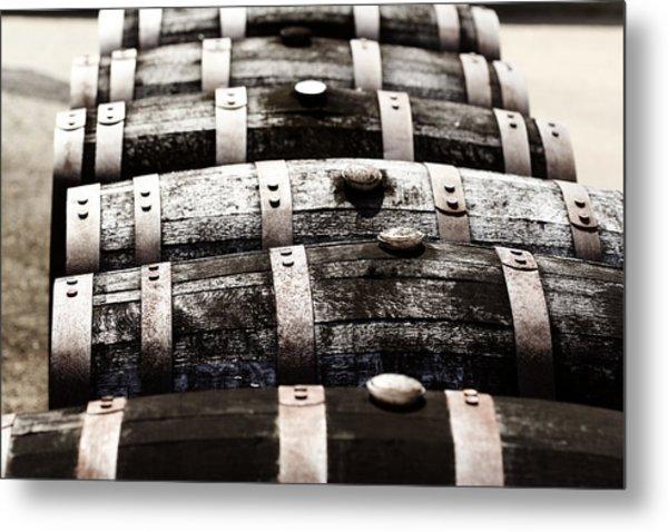 Kentucky Bourbon Barrels Metal Print