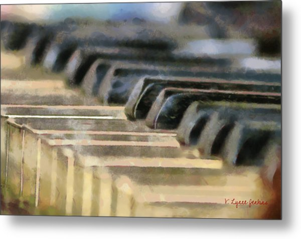 Keys To My Heart Metal Print