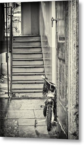 Kid's Bike Metal Print