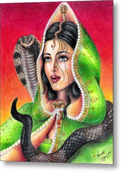 King Cobra Metal Print by Scarlett Royal