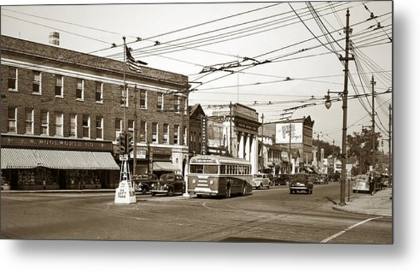 Kingston Corners Kingston Pa Early 1950s Metal Print