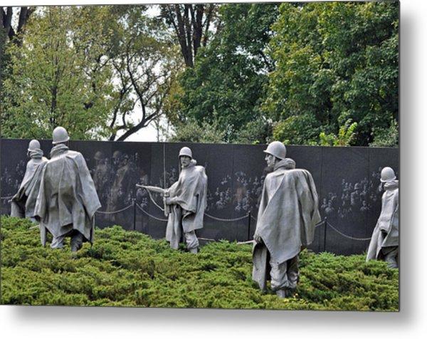 Korean War Memorial 4 Metal Print