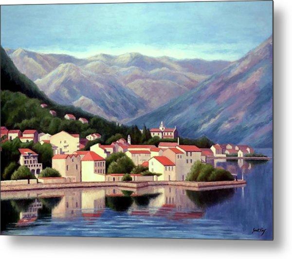 Kotor Montenegro Metal Print