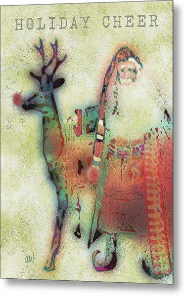 Kris And Rudolph Metal Print