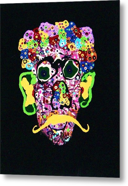 Kurt Vonnegut Jr. Metal Print