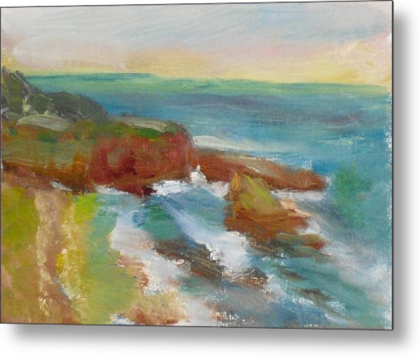 La Jolla Cove 019 Metal Print by Jeremy McKay