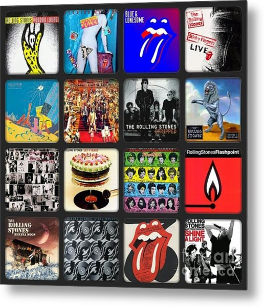 Ladies And Gentlmen The Rolling Stones Metal Print