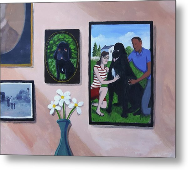 Lady's Family Gallery Metal Print