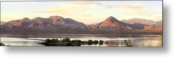 Lake Roosevelt Metal Print by Sharon Broucek