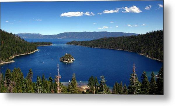 Lake Tahoe Emerald Bay Metal Print