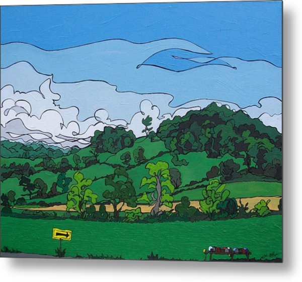 Landscape 63 Metal Print